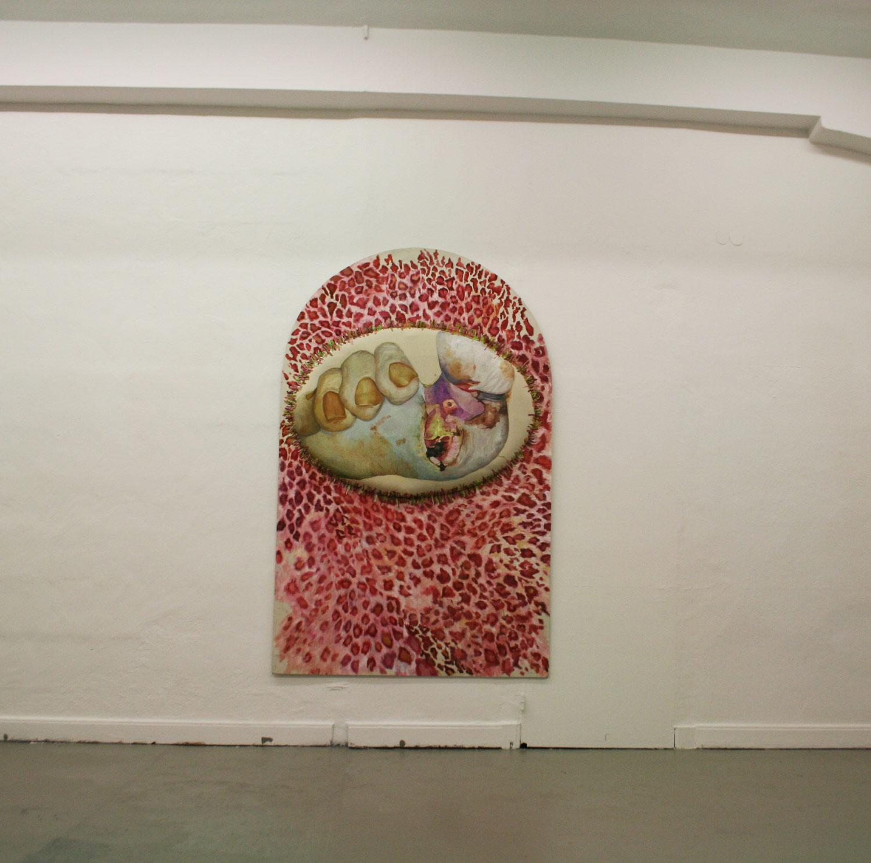 Installationsansicht . Laura Link . 2013