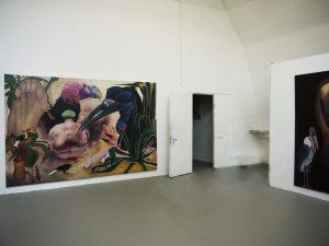 Installationsansicht . Laura Link . Hochschule für bildende Künste Hamburg . Absolventenausstellung . Carne - Vale ! . 2015