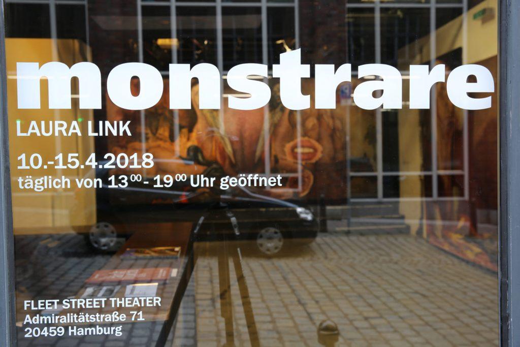 Laura Link . Ausstellungsansicht . Fleet Street Theater Hamburg . 2018