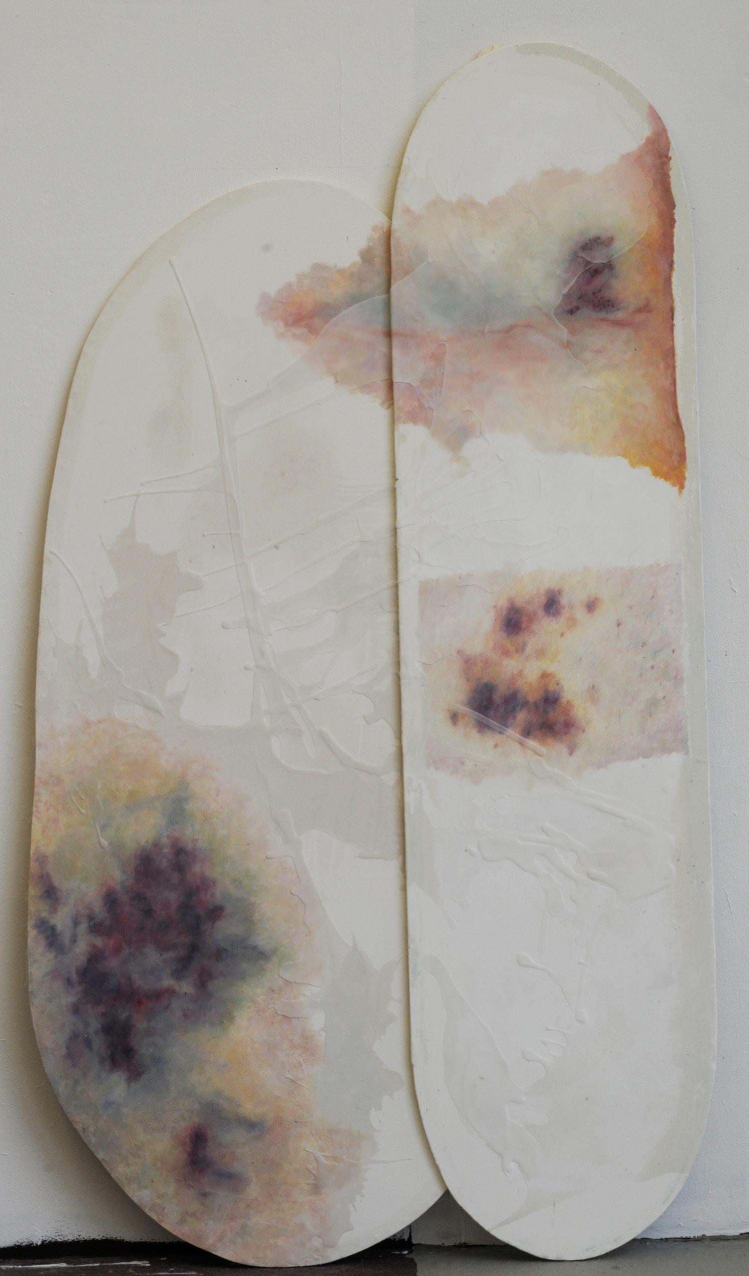 Laura Link . ohne Titel . 2013 . Öl auf Leinwand . 220 x 180