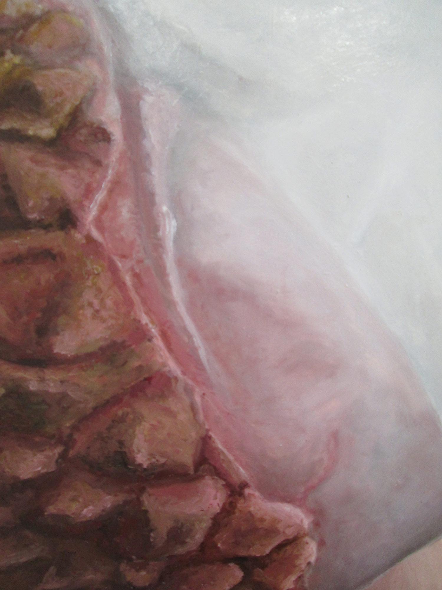 Laura Link . ohne Titel . 2015 . Öl auf Leinwand . 200 x 150 . Detailansicht